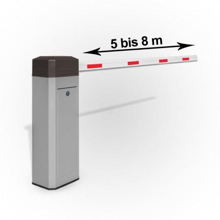 Elektromechanische Schrankenanlage bis 8m ausfahrbar | KBM8