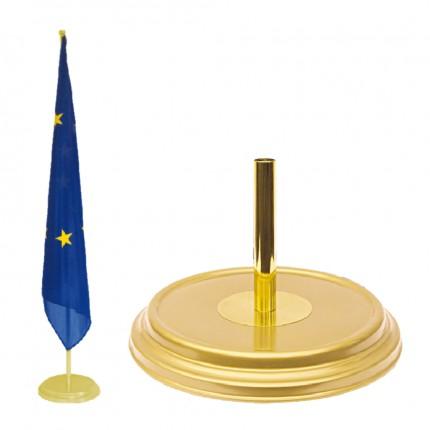 Raumständer 1-fach, gold matt, Ø 360 mm