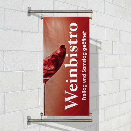 Wallbanner A für Fahnen/Planen
