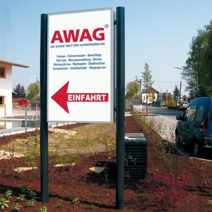 Werbe-Standschild AW 5605