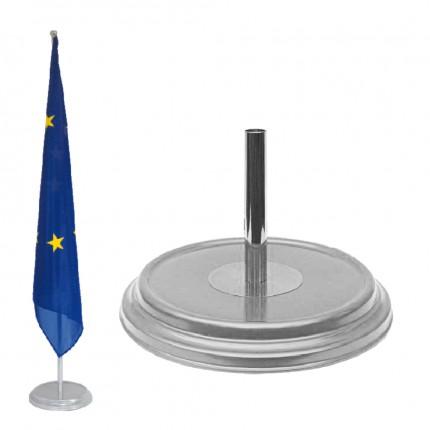 Raumständer 1-fach, silber matt, Ø 360 mm