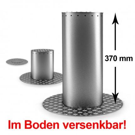 Automatik LED Poller ø 205 mm und 370 mm Höhe