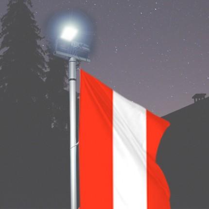 Fahnen-Lichtmast Kombilux 1