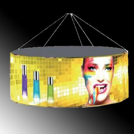 LED-Deckenhänger rund