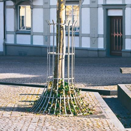 Baumschutzgitter Flachstahl Ø 900 mm