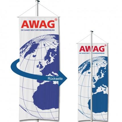 Werbe-Bannerfahne doppelseitig