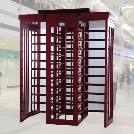 doppelseitiges Drehkreuz - Drehsperre kompatibel mit Zugangskontrollsystemen