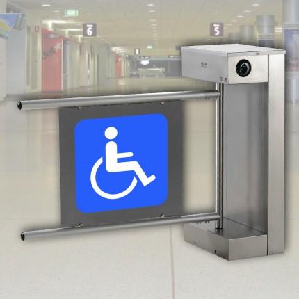 Behindertengerechte Drehsperre E75, für Rollstuhlfahrer, Kinderwagen usw.