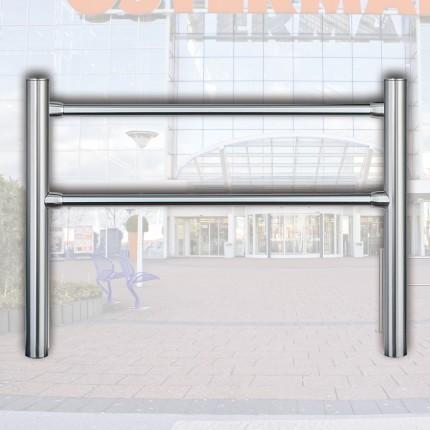 Geländersystem 2 m mit Flachkopf