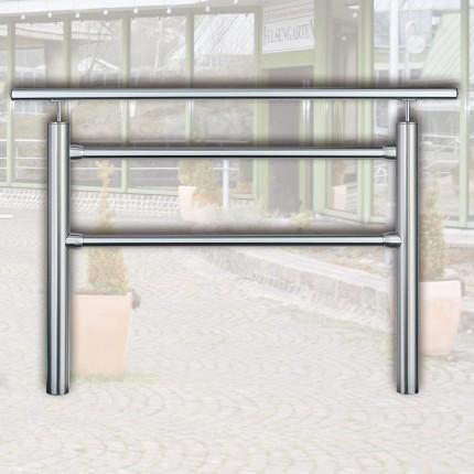 Geländersystem 1 m mit Handlauf