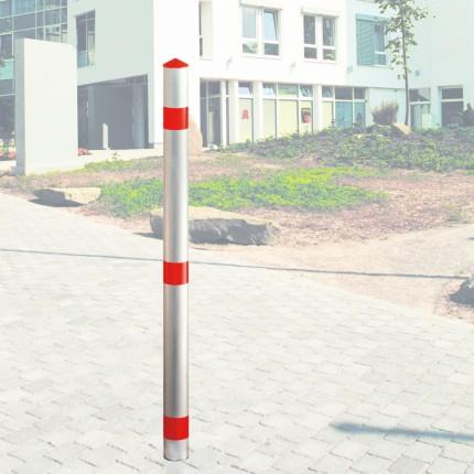 Alu-Sperrpfosten Signal Ø 60 mm
