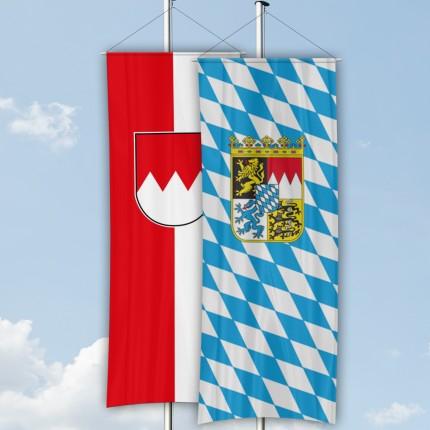 Bundesländer Bannerfahne