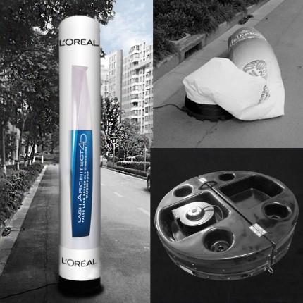 Aufblasbare Leuchtsäule / Werbesäule / Inflatable L (4 m)