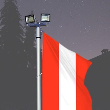 Fahnen-Lichtmast Kombilux 2