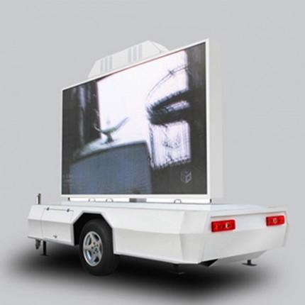 Werbe- und Promotionanhänger T5 mit Stromgenerator