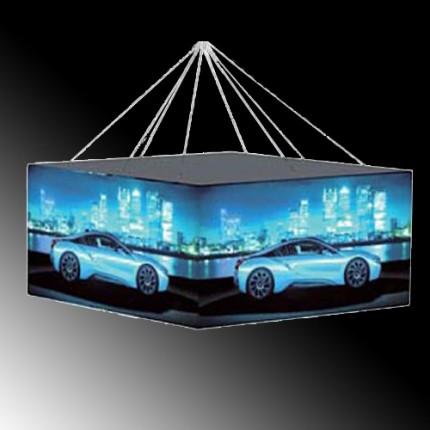LED-Deckenhänger Quadrat