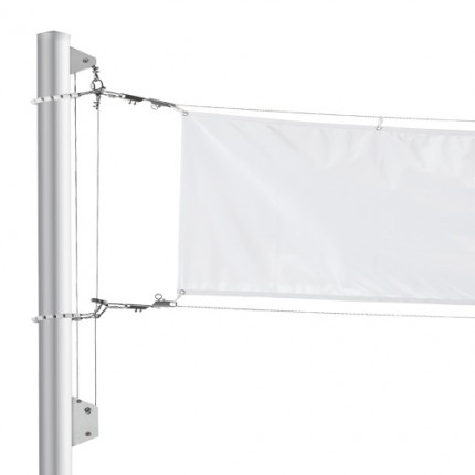 Transparentmast-Anlage Salwind