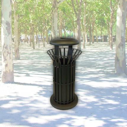 Abfallbehälter Basket-Smoke