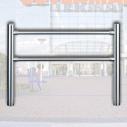Geländersystem 2 m mit Ascher