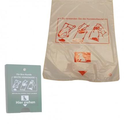 Abfallbehälter Dog1 - Nachfüll-Beutel